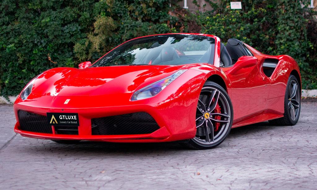 Alquiler Ferrari 488 Spider Alquiler Coches De Lujo Y Deportivos
