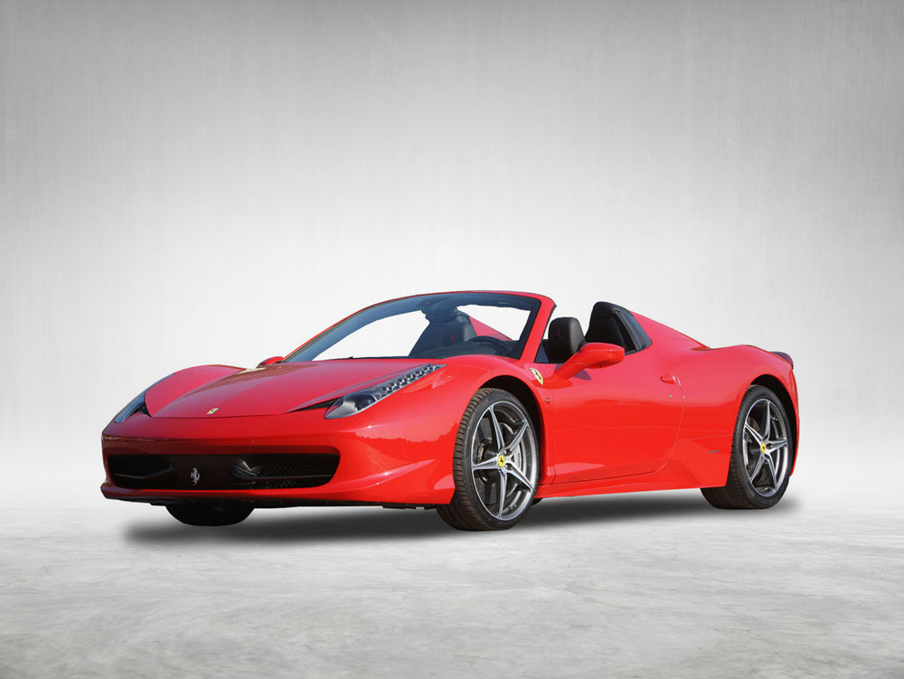 Rent Ferrari 458 Spider Rent Luxury Sports Cars At Best Price In Europe