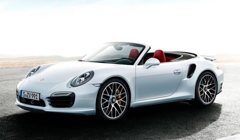 Rent Porsche 911 Turbo S Cabriolet Rent Luxury And Sports Cars Rental